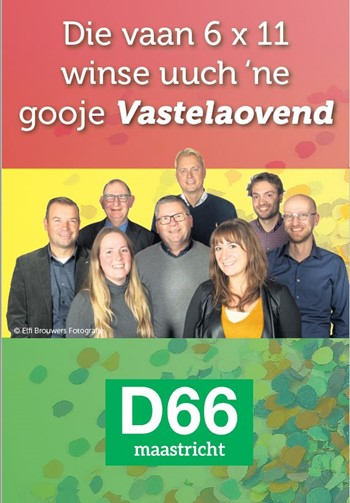 D66 Rectificatie Advetentie D'n Tempeleer